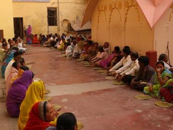 Govardhana prasadam distribution