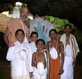 Ashrama Events 2002 - Sri Narasingha Caitanya Matha