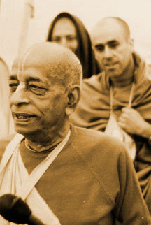 Srila Prabhupada Morning Walk