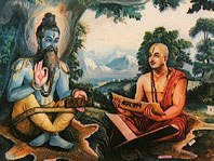 Vyasa instructing Narada