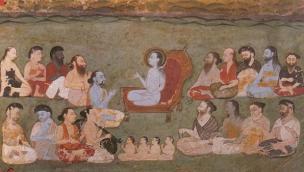 Sukadeva Goswami Speaking Bhagavatam
