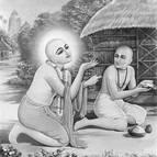 Sri Caitanya Mahaprabhu and Ragunatha Das Goswami