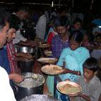 Prasadam Distribution