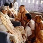 Srila Sridhar Maharaja, Swami Narasingha, Swami Tripurari, Swami Vishnu