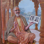 Painting of Srila Guru Maharaja