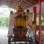 Preparing the Ratha