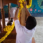Decorating the Ratha