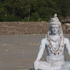 Siva on Ganga, Rishikesh