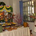 Janardana Offering Arati