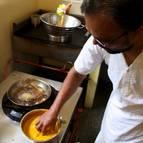 Caitanya Dasa Cooking