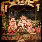 Giriraja on Radha-Madhava's Altar