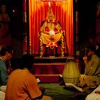 Devotees Gathered at the Puspa Samadhi