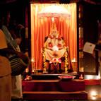 Kirtana at the Puspa Samadhi