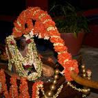 Srila Sridhara Maharaja's Photo in the Palki