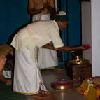 Vamana Prabhu Offering Puspanjali