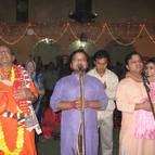 The Gosvamis Performing Kirtana