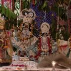 Deities During Maha Rasa Celebrations