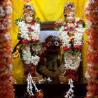 Gaura-Gadadhara on the Ratha