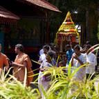 Ratha procession and Kirtana