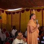 Maharaja speaking at the function