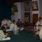 Caitanya Dasa Prabhu Giving Class in Kannada