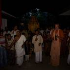 Srila Guru Maharaja Leading Kirtana