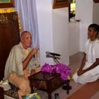Diksita Becomes Dhruva Dasa