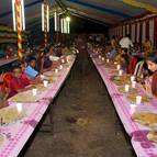Guests Taking Prasadam