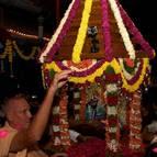 Guru Maharaja Accompanies Radha-Madhava's Ratha