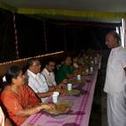 Vamana Prabhu Taking Care of VIP Guests