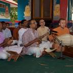 Caitanya Dasa singing Bhajanas