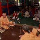 Bhajana at the Samadhi