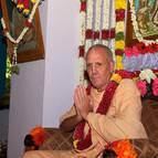 Srila Guru Maharaja on the Vyasasana