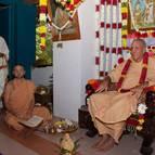 Guru Maharaja on the Vyasasana