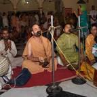 Madhava Maharaja Leading Bhajanas