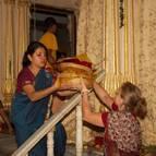 Krsna Kirtana Dasi Helping with Prasadam
