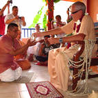 Hrsikesa Accepts his beads and becomes Rishi Dasa