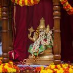 Laksmi-Narasimha on Their Ratha