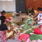 Devotees Preparing Bhoga