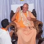 Paramatma Dasa Receives His Beads