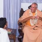 Sanatana Dasa Receives His Beads