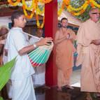 Guru Puaj Led by Srila Guru Maharaja