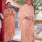 Srila Guru Maharaja Singing for His Divine Grace.