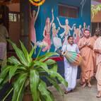 Parikrama of Srila Prabhupada's Puspa-Samadhi