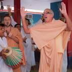 Guru Maharaja Chanting the Holy Names