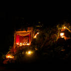 Giriraja Govardhana at Night