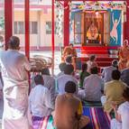 Class in Front of the Samadhi