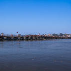 Pontoon Over the Ganga