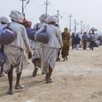 Pilgrims from Kutch in Gujarat