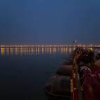 The Ganga at Night